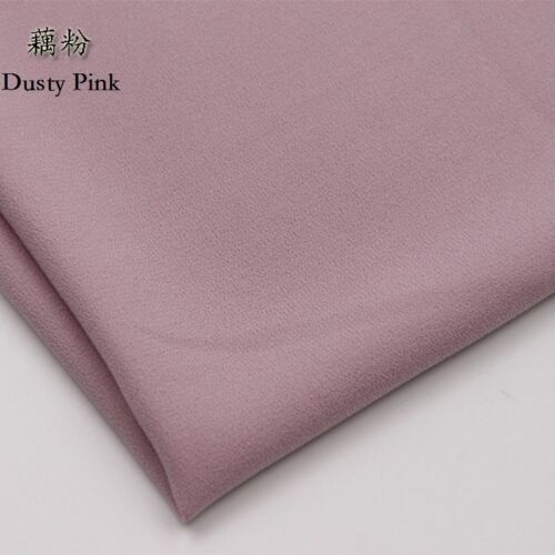 Chiffon Fabric For Apparel Shirts Suits Dress Cloth Material DIY Crafts By Metre