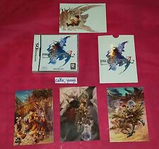 FINAL FANTASY TACTICS A2 ADVANCE 2 GRIMOIRE OF THE RIFT NINTENDO DS NEUF + BONUS