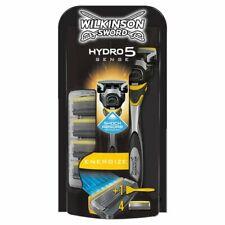 Wilkinson Sword Hydro 5 Sense Energize Mens Razor With 5 Blades (RRP £20)