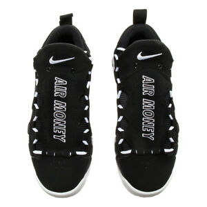 separation shoes c9055 ee92b nike Air More Money BLACK WHITE REGGIE MILLER US MENS SHOE SIZES ...