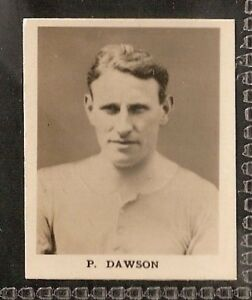 - EXC 25 CARDS DC THOMSON -FULL SET- FAMOUS FOOTBALL ERS