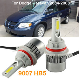 Image Is Loading 9007 Hb5 Led Headlight Conversion Kit Bulbs Replace