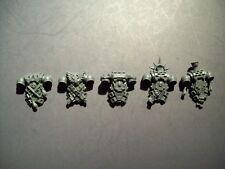 5 Space Marine Blood Angel Death Company Backpacks bits