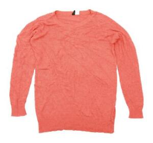 Divided-Womens-Size-S-Orange-Jumper-Regular