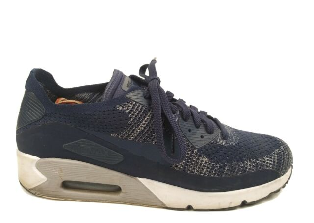 Size 11.5 - Nike Air Max 90 Ultra 2.0 Flyknit College Navy
