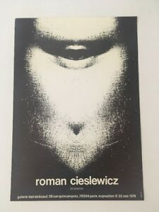 Affiche-Roman-Cieslewicz-serigraphies-1974