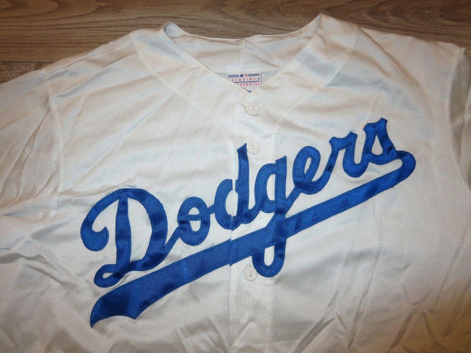Los Angeles Dodgers Baseball MLB Majestätisch Trikot Jugendliche Jugendliche Jugendliche XL 18-20 Kind 006157
