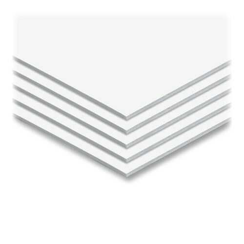 White 3 16  Foam Core 24  x 36  Mounting Boards - 25pk