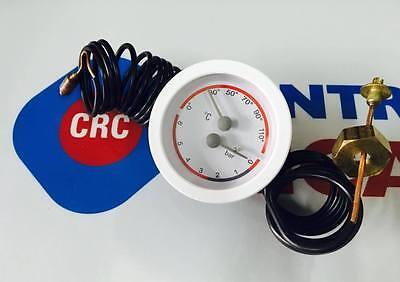Wasser Baugewerbe Angemessen Thermomanometer Weiß D.60 Ersatzteile Kessel Original Baxi Kabeljau: