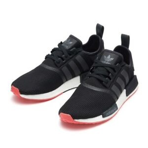 5e8f9ff19 Image is loading ADIDAS-NMD-R1-CORE-BLACK-TRACE-SCARLET-CQ2413-