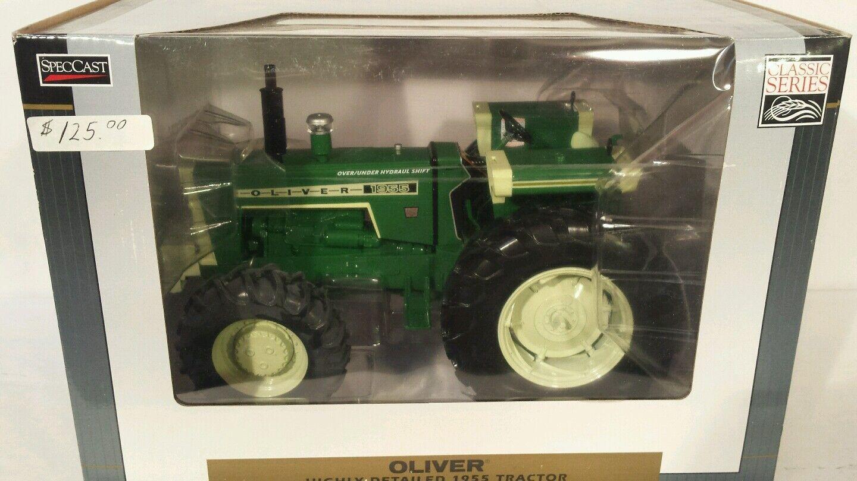 tienda de pescado para la venta Oliver 1955 con FWA 1 1 1 16 diecast coleccionables réplica de tractor de granja Juguete por Speccast  alta calidad