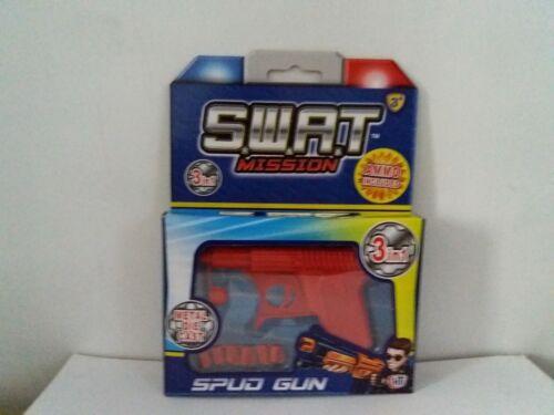 SWAT METAL DIE CAST Spud Gun 3 in1