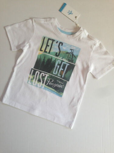 Shirt White 4//5 5//6 WAS £31 NOW £9.50 SALE SALE Designer PENGUIN Boys T