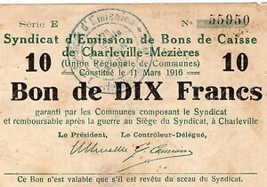 FRANCIA-MONETAZIONE-D-039-EMERGENZA-1916-RARA