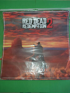 STICKER AUTOCOLLANT RED DEAD REDEMPTION 2 NEUF PS4
