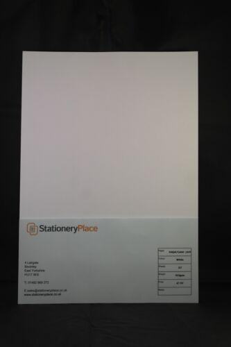 impression laser super finition lisse. Carte Blanc Mince A4 160 g m ² à jet d/'encre
