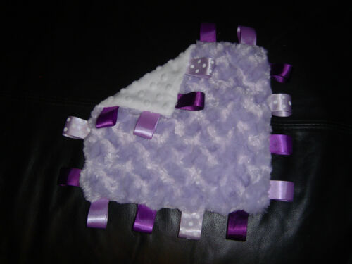 matching taggy available Supersoft Minky Rosebud /& Bobble Blanket with Tags