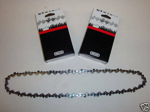 90SG056G Set of 2 Oregon Chainsaw Chains 90SG056G 3//8LP .043