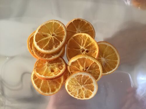 75 Dried Orange Slices
