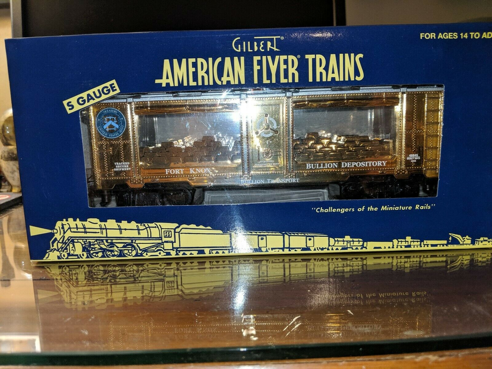 American Flyer 6-48845 Fort Knox Mint Car New In Box C-9