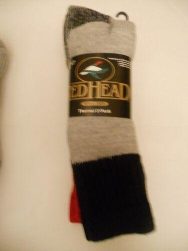 RedHead Merino Wool Blend Topper Socks Size 10-13