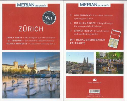 1 von 1 - Zürich - WIE NEU - Merian momente - Mit Extra-Karte zum Herausnehmen