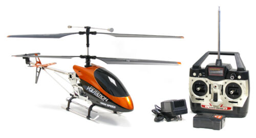 HUGE Metal Remote Control RC Syma 9053 Volitation Alloy 3ch GYRO R//C Helicopter