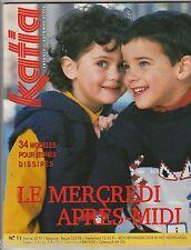 Catalogue de tricot KATIA n°11 ENFANTS Automne-Hiver