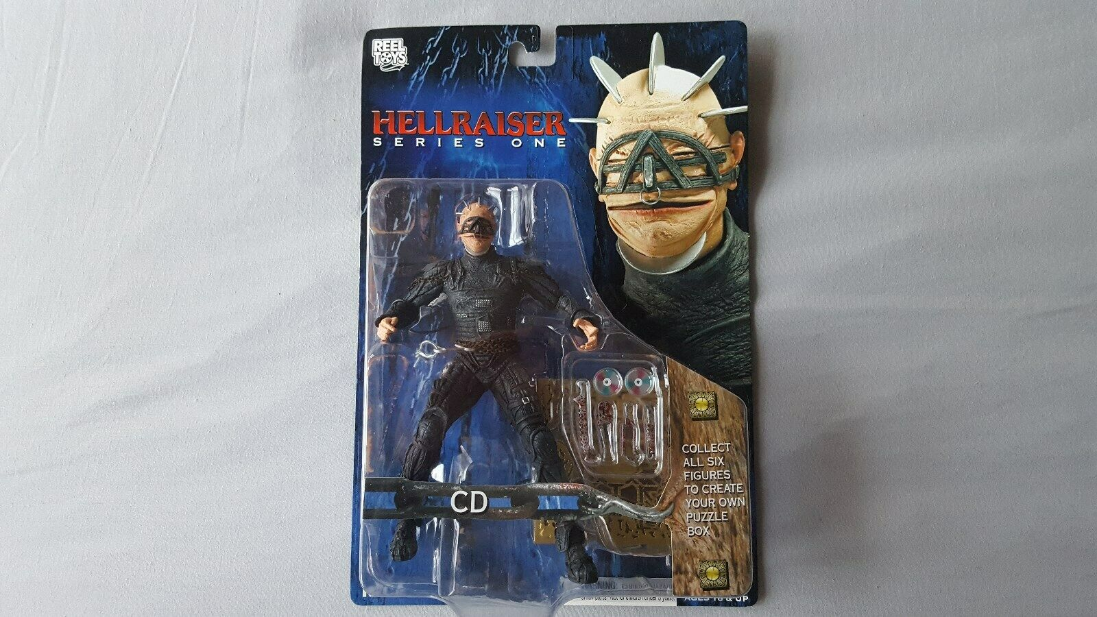 HELLRAISER CD 7  FIGURE SERIES ONE NECA.