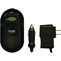 Vivitar Lcd Display Li-ion/aa/aaa Ac/dc Universal Battery Charger Sc-all-plus