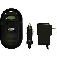 Vivitar Lcd Display Li-ion/aa/aaa Ac/dc Universal Battery Charger Sc-all-plus