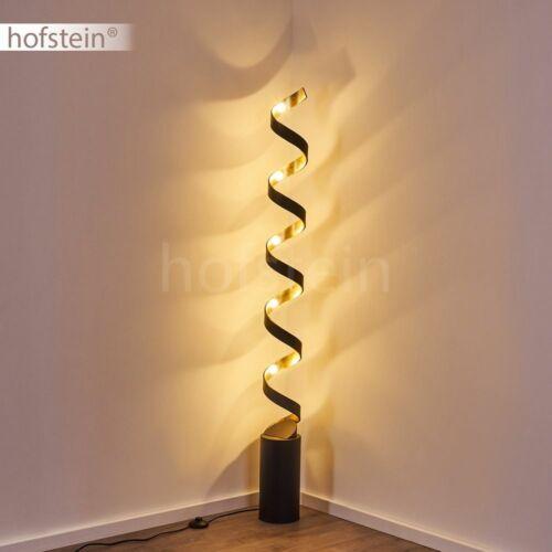 LED Wohn Schlaf Zimmer Raum Leuchten Steh Lese Boden Stand Lampen schwarz//gold