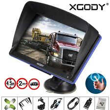 "Xgody 7"" Touchscreen 8gb Car GPS Navigation SAT NAV Navigator Lifetime Maps"