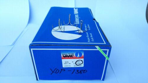 500 x VMC ANCORETTE MISURA 2 SCATOLA 500 PEZZI SPINNING COD 7651 NI ANCORINE