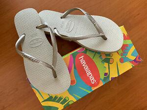 Tongs-femme-Havaianas-SLIM-Gris-sable-neuves
