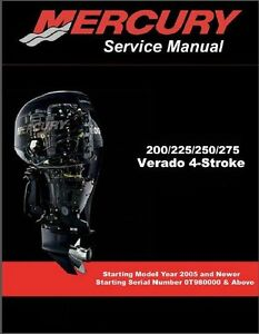 Mercury-Verado-200-225-250-275-Outboard-Motors-Service-Manual-CD