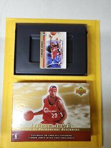 LeBron-James-2003-04-Phenomenal-Beginning-Upper-Deck-set-1-20-plus-6-gold-card