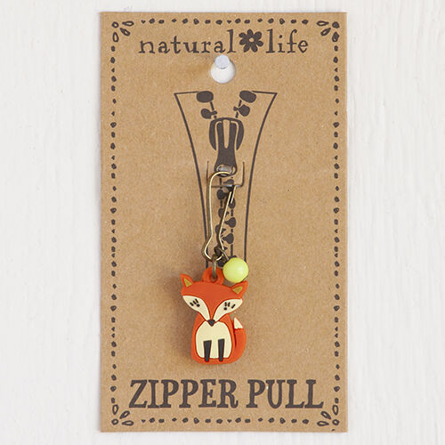BACKPACKS PURSES NATURAL LIFE CRITTER ZIP PULLS FOR HOODIE