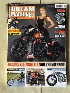 Dream Machines Magazin Zeitschrift Motorrad Rocker Biker 2/2019 Mai 2019 - Essen, Deutschland - Dream Machines Magazin Zeitschrift Motorrad Rocker Biker 2/2019 Mai 2019 - Essen, Deutschland