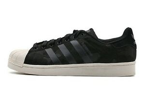 new styles ec8d2 67dc9 Details about Mens Womens Adidas Superstar Weave Black/Black/White AQ6745  Size UK 8 EU 42