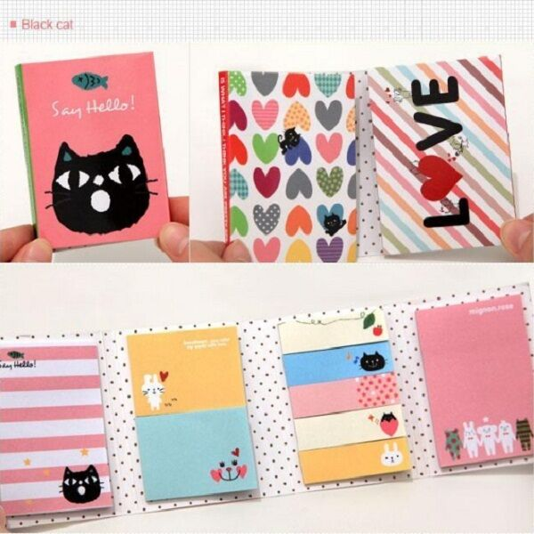 Animal Sticker Post Bookmark Marker Memo Flags Tab portable Sticky Note