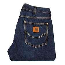 "Carhartt Pantalón de Texas Jeans para hombre Talla 32 (32 1/4"") En Costura"