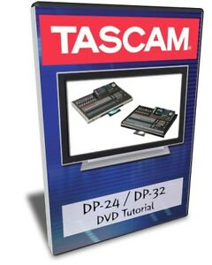 886470657551 upc tascam dp 24 dvd video tutorial manual help.