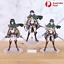 thumbnail 1 - Attack on Titan Action Figure Eren Mikasa Ackerman Levi Rivaille Figma PVC 13CM