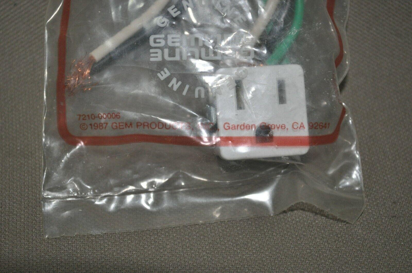 NOS FSP Whirlpool Gemline Robertshaw Dryer Door Cable PS333104 230131 P175