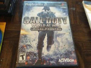 PlayStation-2-game-call-of-duty-world-at-war-final-front