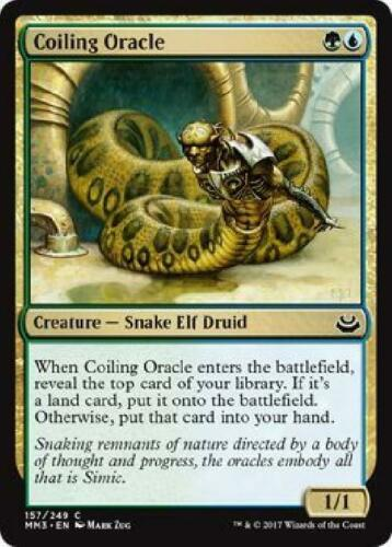 8x Coiling Oracle 157//249 Near Mint MTG Modern Masters 2017 MM3