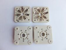 4 x SOCKETS Ceramic ( made in USSR ) - 6C33C, 6C41C,GU-32,GU-29,GMI-6,GI-30, NOS