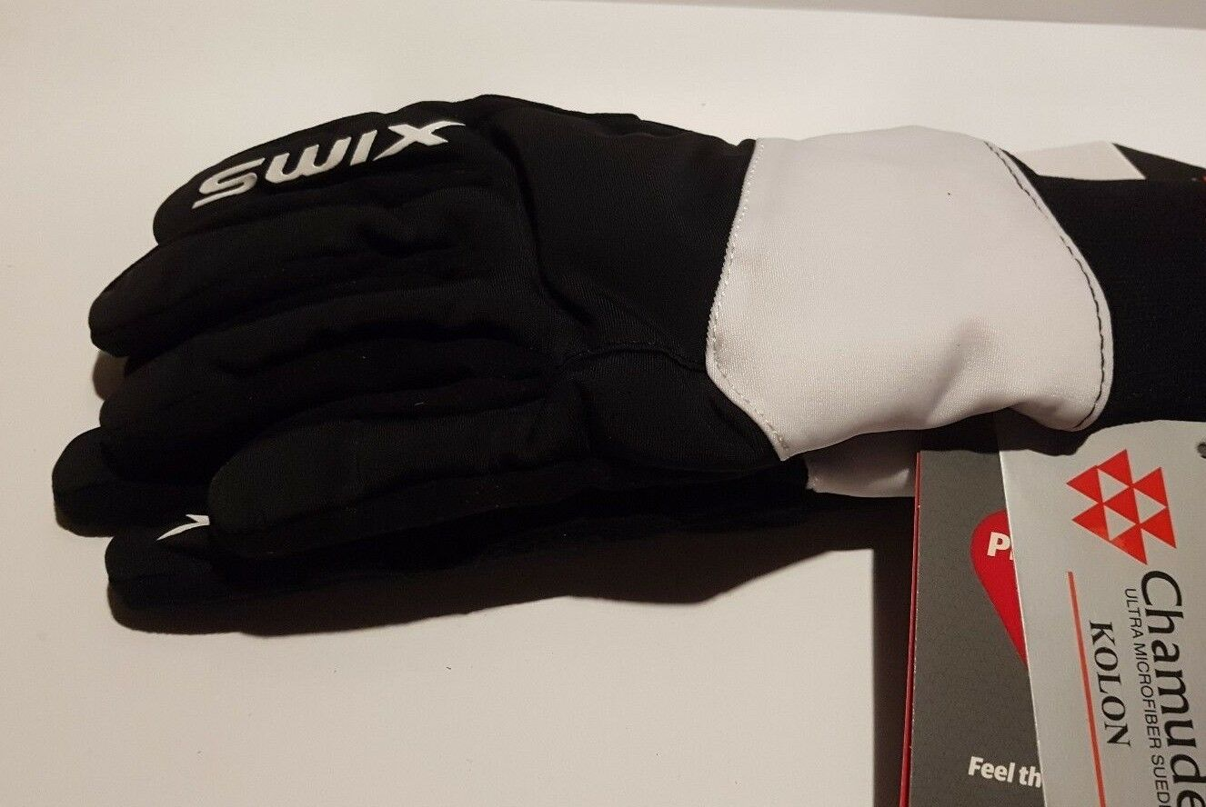SWIX SWIX SWIX POLLUX GLOVE damen Damen Handschuhe Schwarz weiß Größe 6 S 5e97ab