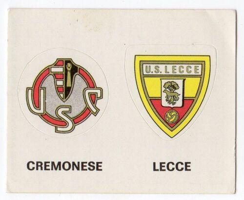 figurina CALCIATORI PANINI 1977//78 NEW numero 346 CREMONESE LECCE